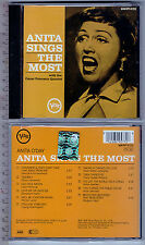 Anita O'Day , Anita Sings the Most   ( CD, U.S.A. )