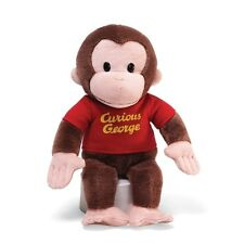 "Gund Curious George 12"" Red Shirt 4029019 Plush Toy NEW"