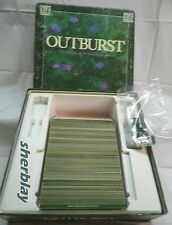1988 Outburst Board Game of Verbal Explosions Complete