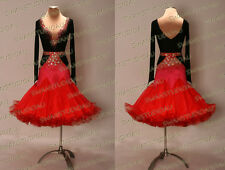 SALE BRAND NEW STOCK DRESS CLEARANCE LATIN DANCE DRESS SIZE:S US 4