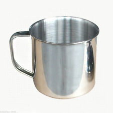 Portable Student CHILD Stainless Steel Coffee Tea Mug Cup-Camping/Travel 3.5 v