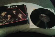 QUEEN GREATEST HITS Vinyl LP nr/mint ultra rare centre label error 1st Pressing