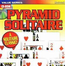 Pyramid Solitaire MAC CD classic matching card match pairs 13 high score game!
