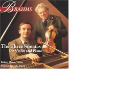 Stephen Hough / Robert Mann Brahms : Drei Sonaten für Violine und Klavier RAR!
