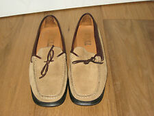 KROLL  SLIPPER  BRAUN  GR. 38,5  WILDLEDER   TOP