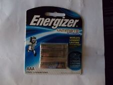 genuine  Energizer 4 AAA Ultimate LITHIUM battery brand new free postage