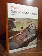 Einaudi - Bruno Zevi : Storia dell' Architettura Moderna 1961 - illustrtato