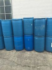 55 Gallon Plastic Drums 4 Rain-barrels DIY projects LOCAL PDX 97203 pick up only
