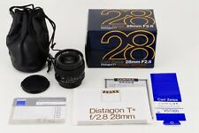 TOP MINT in BOX Contax Carl Zeiss Distagon 28mm F/2.8  MMJ from japan #773