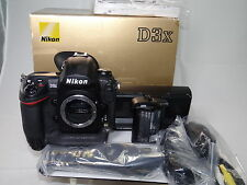 52K shutter Nikon D3X 24.5MP FX CMOS Digital SLR with 3.0-Inch LCD (Body Only)