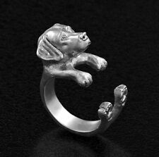 Labrador Retriever Ring Adjustable Dog and Puppy Lovers Fashion Jewelry AR-38