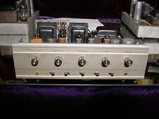 Vintage Precision (Grommes) Tube Stereo Integrated Amplifier Uses EL84/7189/6BQ5