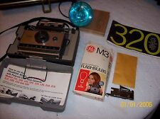 Polaroid Land Rangefinder 320 Instant Film Camera in Case EXC