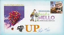 PUGH CACHETS FIRST DAY COVER FDC W/INSERT 2011 'UP' MOVIE ANIMATION CARTOON