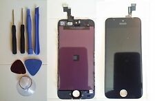 Reino Unido Repuesto Pantalla Lcd Y Digitalizador Touch Screen Para Apple Iphone 5s Negro