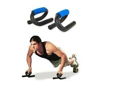 PUSH UP STAND MANIGLIE PER FLESSIONI BAR PETTORALI SPALLE PALESTRA FITNESS PESI