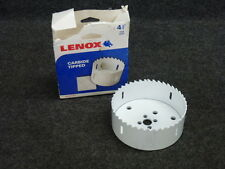 "NEW! LENOX 4-1/2"" CARBIDE TIPPED HOLE SAW, 302727CT"