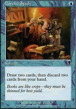 Magic the Gathering MTG 1x Careful Study x1 LP x 1 Odyssey
