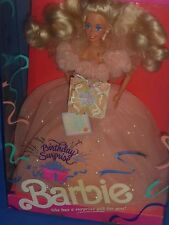 ♪ NRFB TOP Rarität 1991 Birthday Surprise Geburtstag Barbie Traum in Apricot