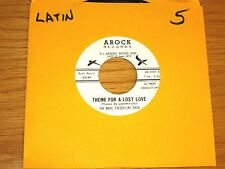"""LATIN 45 RPM - MARC FREDERICKS ORCH - AROCK 1005 - """"THEME FOR A LOST LOVE"""""""