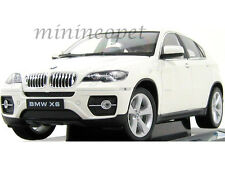 WELLY 18031W  BMW X6 SUV 1/18 DIECAST WHITE