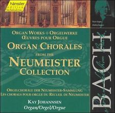 BACH: ORGAN CHORALES FROM THE NEUMEISTER COLLECTION NEW CD