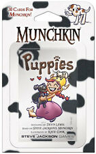 Munchkin Puppies Expansion Card Game Add 30 Cards Steve Jackson Booster SJG 4216