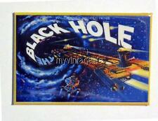 "THE BLACK HOLE Metal LUNCHBOX   2"" x 3"" Fridge MAGNET ART"
