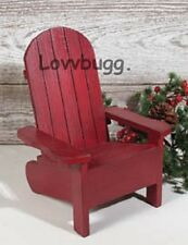 "Adirondack Chair Furniture for 18"" American Girl Doll Widest Selection!"
