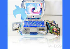 Apple iBook Clamshell G3 + 60GB HD + Dual OS 9+Tiger + Gifts TESTED WORKING Well