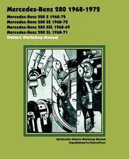 Mercedes W113 280SL 280 SL Pagoda proprietari Repair Service MANUAL MANUALE LIBRO