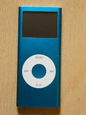 Genuino Apple iPod Nano 2nd Generación Azul A1199 4Gb DEFECTUOSO