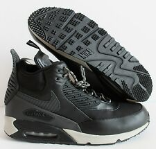 NIKE AIR MAX 90 SNEAKERBOOT WNTR WINTER BLACK-MAGNET GREY SZ 14 [684714-001]