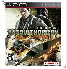 PS3 Ace Combat: Assault Horizon SONY Playstation Action Games Namco Bandai