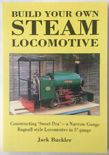 Build Your Own Steam Locomotive by Jack Buckler / train loco rdgtools book