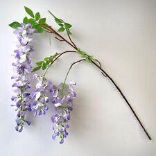 100cm Artificial Wisteria Spray - Lilac - Decorative Plant Flower