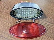 Cateye LED Taillight Light Stop Taillamp for Harley Davidson or Metric Bikes