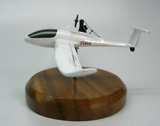 Taurus Pipistrel Glider Airplane Desk Wood Model Small New
