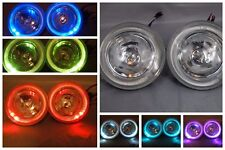 7 COLOR HALO FOG/DRIVING LIGHTS ATV RHINO POLARIS GOLF CART RANGER SAND RAIL