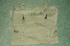 BRITISH ARMY TOOL ROLL PONCHO ROLL 58 PATTERN FALKLANDS IN GREAT USED COND