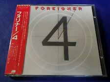 Foreigner 4 West Germany CD Europe 16999-2, Japan Obi 32XP-129 Very Rare