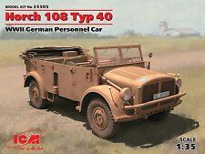 ICM 1/35: 35505 Horch 108 Typ 40 - schwerer Einheits-Pkw der Wehrmacht