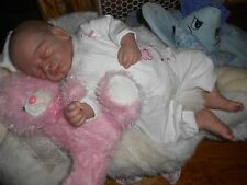 "Reborn baby girl doll "" EMBER"" Look So Real 18"" Lay away offer"