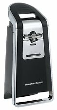 Hamilton Beach Automatic Electric Can Opener Food Pop Kitchen Counter Top Black