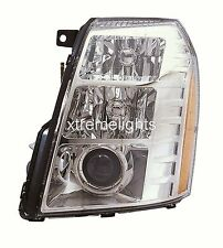 CADILLAC ESCALADE 2007-2014 LEFT DRIVER HID HEADLIGHT HEAD LAMP FRONT LAMP NEW