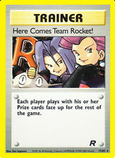 "Pokemon Team Rocked "" Trainer "" Holo engl.  Mint / Near Mint   #15/82"