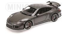 Minichamps 110062720 Porsche 911 GT3 - 2013 - Grey Metallic - 1:18 #NEU OVP