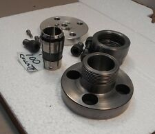 Emco Compact 5 Lathe TG100 Collet Chuck / Backing Plate