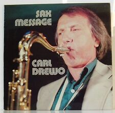 LP Carl Drewo  Sax Message  Intersound Germany