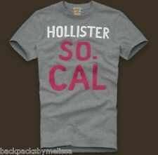 HOLLISTER Soft Cotton Emma Wood Men's GRAY Shirt NeW Medium M Med Authentic NWT